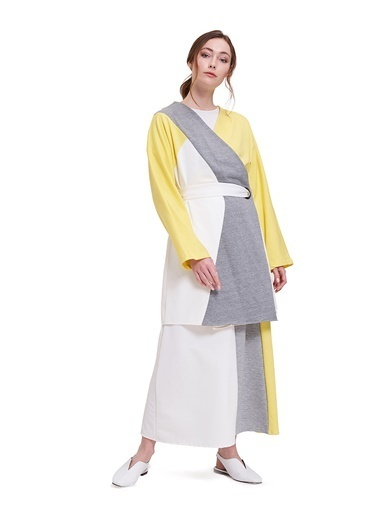 Mizalle Kimono Sarı